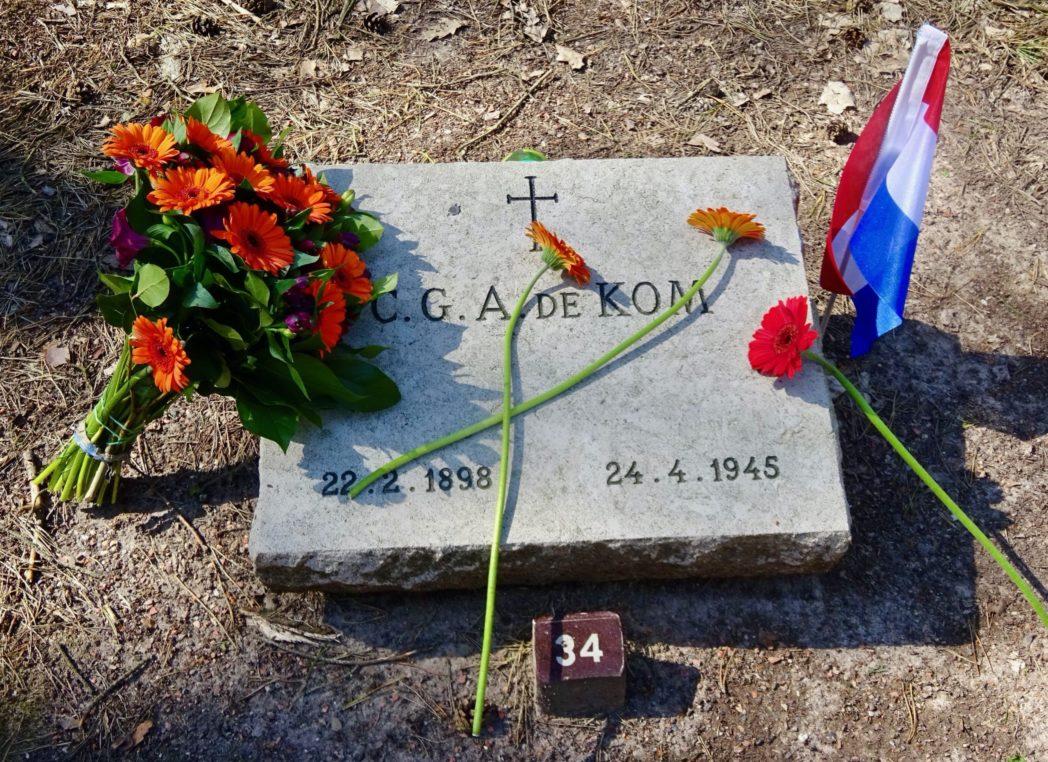 Graf Surinaamse verzetsstrijder Anton de Kom